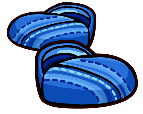 File:Blue Canvas Shoes clothing icon ID 6063.png