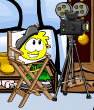 Yellow puffle playing 2012