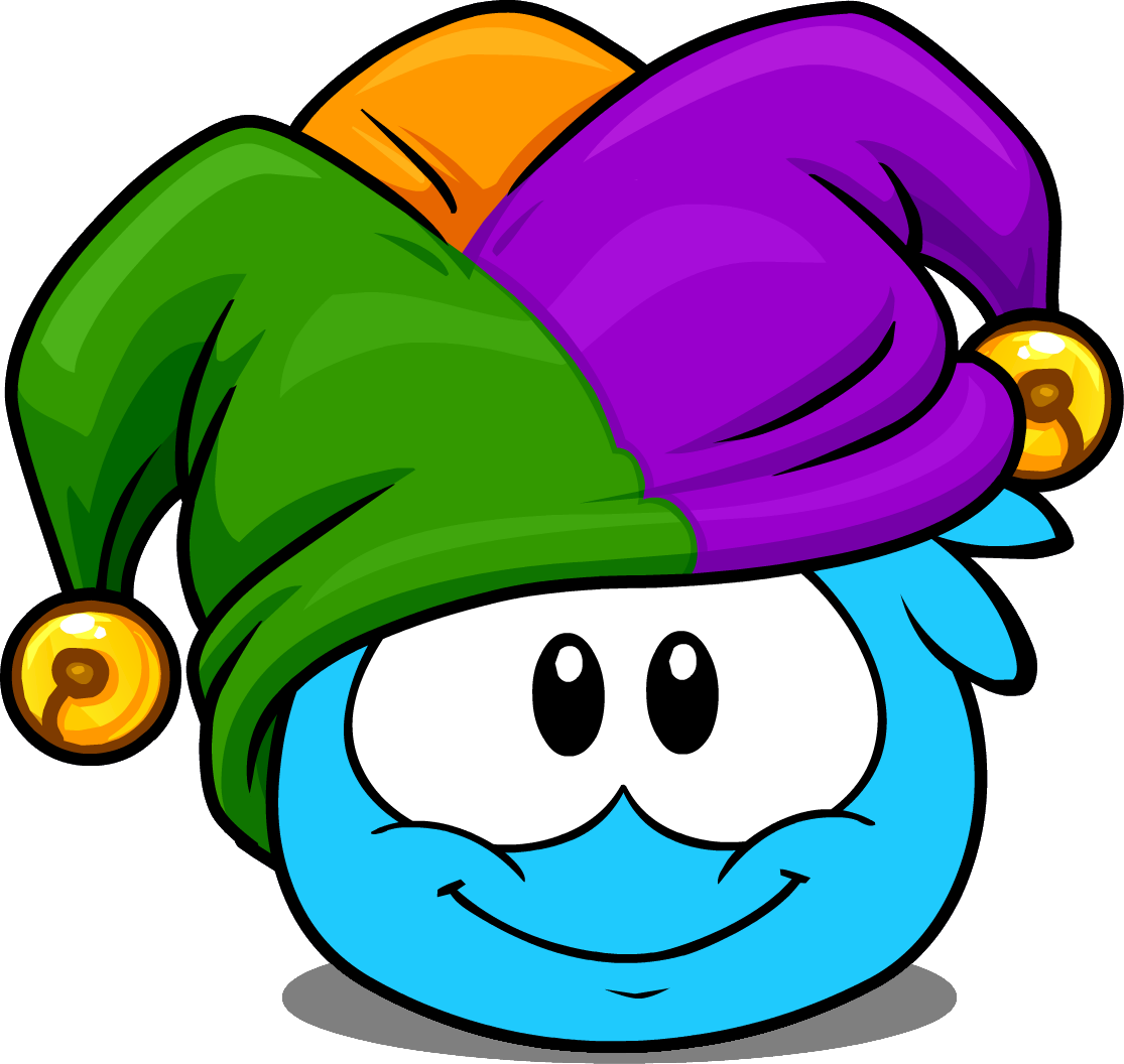 File:Jester Hat (Puffle Hat) in Puffle Interface.png