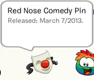 RedNoseComedyPinSB