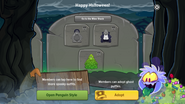 Halloween Party 2016 app interface page 3