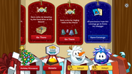 Holiday Party 2016 app interface page 2