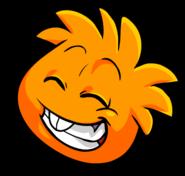 Orange PuffleGiggles