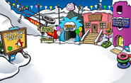 Puffle Party 2011 Ski Village