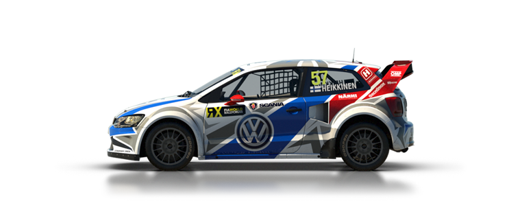 DiRT Rally Volkswagen Polo Rallycross