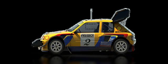 File:DiRT Rally Peugeot 205 T16 Pikes Peak.png