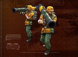 Gen2 Rocket Soldier Squad