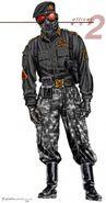 Renegade Nod Officer concept art