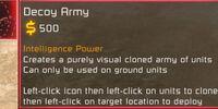 Decoy army