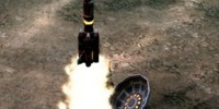 Radar jamming missile