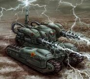 Tesla Tank Red Alert 3 Command And Conquer Wiki