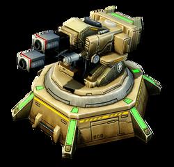 CNC4 Skystrike Artillery Render