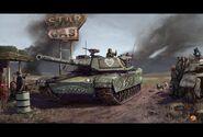 PCam American Tank