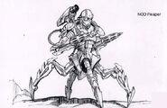 CNCFS Cyborg Reaper Concept Art