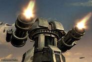 YR Gatling Gun Render Closeup