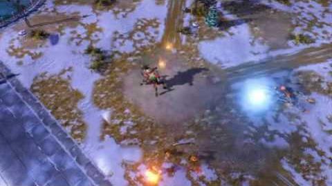 C&C Red Alert 3 Uprising Reaper Surveillance Footage