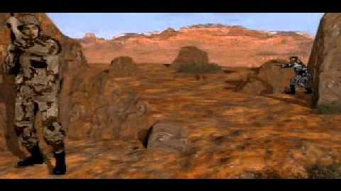 C&C Tiberian Dawn - Guy Killing Another Guy in the Desert