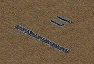 Railway transport in Tiberian Sun game