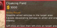 Cloaking field