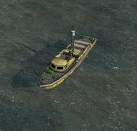 GLA Patrol Boat