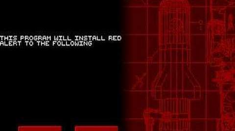 Red Alert DOS Installer