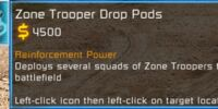 Zone Trooper Drop Pods