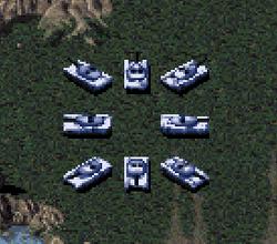 RA Medium Tank In-game
