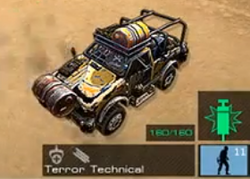 GLA Terror Technical