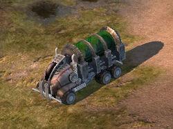 Liquid Tiberium Transport