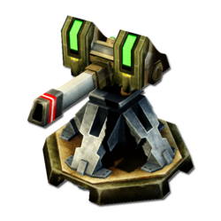 CNC4 Guardian Cannon Render