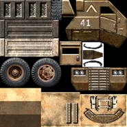 USA Supply Truck Texture 1
