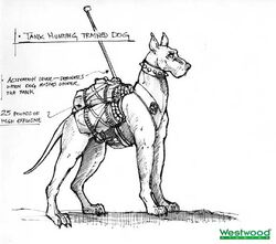 RA2 Trained Tank Hunting Dogs Concept