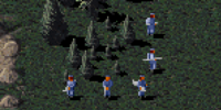 Rocket soldier (Red Alert 1)