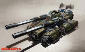 Red Alert 3 Apoc Tank