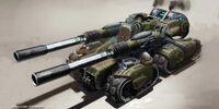 125mm Drakon cannons
