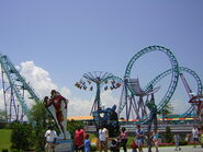 Six Flags NOLA Atmosphere