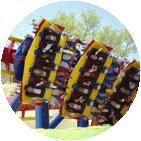 Portal roller coasters