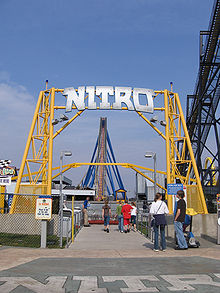 File:Nitro sign at Six Flags.jpg