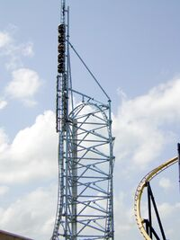 Mr Freeze at Over Texas
