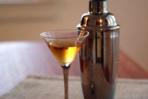 Brandy martini