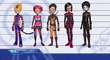 Lyoko Warriors- New outfits