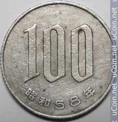 Jpy 1983 100 Yen Coin Collecting Wiki Fandom Powered