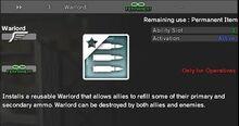 Warlord permanent