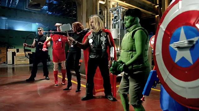 Farmers Insurance Marvels The Avengers -- Suit Up University of Farmers