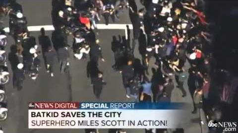San Francisco BATKID Miles Scott VIDEO Watch Batkid as he fights crime in Gotham City!