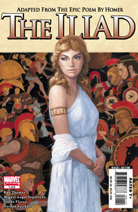 Marvel Illustrated The Iliad 1