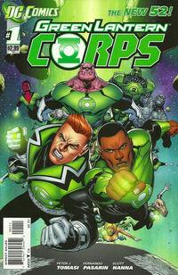 Green Lantern Corps 2011 1