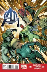Avengers AI 1