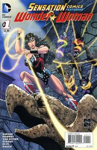Sensation Comics Featuring Wonder Woman 1