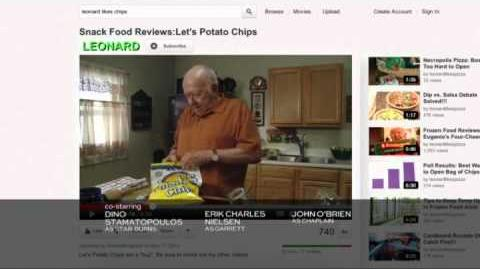 Community S03E22 Leonard Reviews Let's Potato Chips 1a